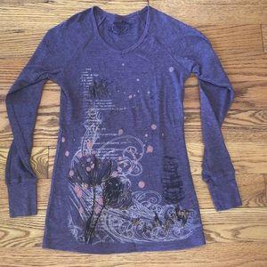 Long Sleeve Mauve t-Shirt